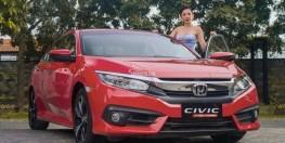 Honda Civic 1.8 E 2018