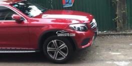 bán xe Mercedes GLC250 2016 màu đỏ/nội thất màu kem