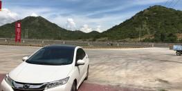 Cần bán xe Honda City 2016, Tự động màu trắng.
