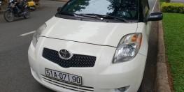 Cần bán Toyota Yaris 1.5 đời 2007, màu trắng, nhập khẩu số tự động