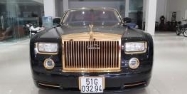 Rolls-Royce Phantom mạ vàng giá tốt