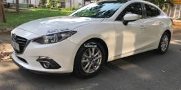 Mazda 3 1.5AT Mua 2016 màu trắng xe đẹp như mới