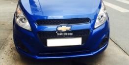 bán xe Chevrolet Spark 2016 số sàn màu Xanh dương