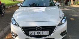 Mazda 3 1.5AT 2016 màu trắng xe đẹp như mới