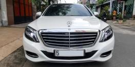Cần bán Mercedes S400 Mode 2016, màu trắng