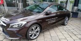 Chuyên xe Mercedes CLA200 Lướt 900KM Nâu Nhập Khẩu. Hotline: 0908784875