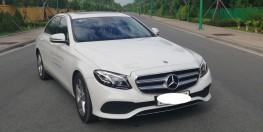 Chuyên Mercedes E250 Trắng lướt , ĐK 5/2018 Hotline:0908784875