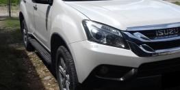Cần bán xe Isuzu MUX 2017 số sàn màu trắng nhập khẩu