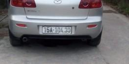 bán xe mazda3 2005 màu bạc nhập khẩu