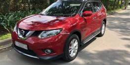 Bán lỗ xe Nissan X-Trail 2018 màu đỏ xe đẹp nguyên zin