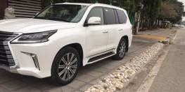 LX570 đời 2016 số tự động 8 cấp, màu trắng nhập khẩu Nhật Bản