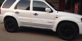 Chính chủ bán xe Ford Escape 2006 màu trắng tự động gầm cao