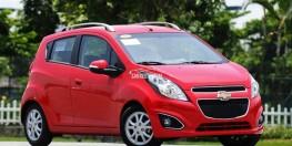 Bán xe Chevrolet Spark LTZ 1.0 đời 2015 số tự động, màu đỏ