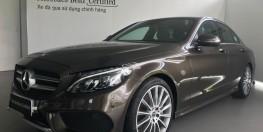 Bán xe Mercedes C300 Nâu cũ - lướt 7/2018 Chính hãng.