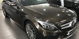 Bán xe Mercedes C300 Nâu cũ - lướt 6/2018 Chính hãng.