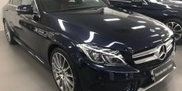 Bán xe Mercedes C300 Xanh đen cũ - lướt 6/2018 Chính hãng.