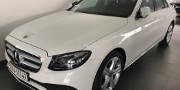 Bán xe Mercedes E250 Trắng cũ - lướt 8/2018 Chính hãng.