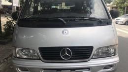Cần thanh lí chiếc Mercedes MB100 2002 số sàn máy xăng 9 chỗ ngồi
