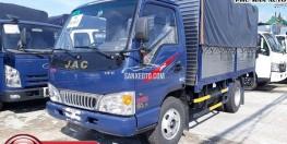 Xe tải nhẹ JAC 2t4 thùng dài 3m7-Ga cơ.