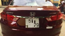 Honda City 1.5 AT số tự động màu đỏ cuối 2017