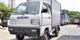 Cần bán Suzuki Carry Truck thùng kính 2018 giá tốt LH: 0939298528
