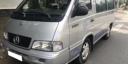 Cần thanh lí chiếc Mercedes MB100 2003 số sàn máy xăng 9 chỗ ngồi