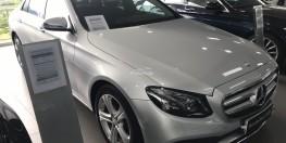 Bán xe Mercedes E250 Bạc cũ - lướt 8/2018 Chính hãng.