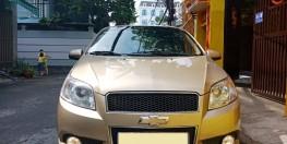 Cần bán con Chevrolet Aveo 2017 LT số sàn màu vàng cát