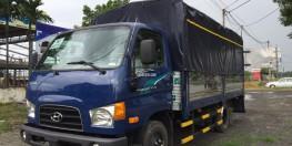 Bán xe Hyundai New Mighty 75S 2o18 thùng mui bạt, giá khuyến mãi