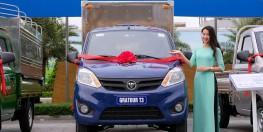 Xe tải Trường Giang Gratour sx12-990 kg tặng 100% thuế trước bạ và 250 lít xăng.