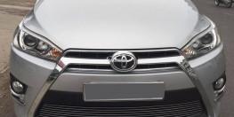 Bán Toyota Yaris màu bạc 2014 đk 2015 tự động nhập thái đẹp