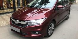 bán xe Honda City mua tháng 4/2018 tự động màu đỏ cực mới