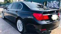 Em bán xe BMW 750Li đời 2010 màu đen lịch lãm, nội thất kem sang trọng