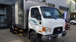Bán xe Hyundai New Mighty 75S 2018, thùng kín inox, giá khuyến mãi