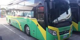 Bán xe giường nằm Thaco Bus TB120SL đời mới.