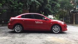 Bán xe Mazda 3 1.6 năm sản xuất 2012, màu đỏ, nhập khẩu nguyên chiếc
