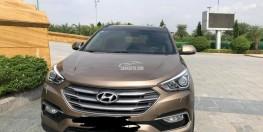 Bán ô tô Hyundai Santa Fe 2016, full option, 2 cầu, máy dầu