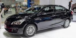 Dòng xe Ciaz thế hệ mới động cơ 1.4 hàng nhập nguyên chiếc từ Thái Lan