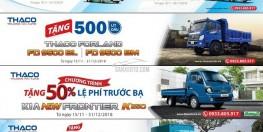 Cần bán xe tải Thaco đời 2018 tải trọng 1 tấn - 1,49 tấn - 1,99 tấn - 2,49 tấn