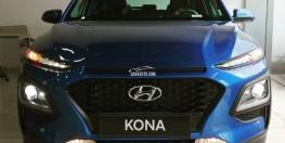 Bán Hyundai Kona 2.0 AT 2018, màu xanh lam, giá 615TR có giao ngay