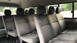 Toyota Hiace sản xuất 2008 đăng ký lần đầu 2011