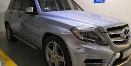 Cần bán xe Mercedes Benz GLK 250 màu bạc số tự động