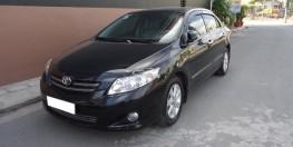 Bán Nhanh Toyota Altis 2009 số sàn màu đen cực sang trọng.