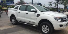 Bán Ford Ranger XLT 2014 tự động 2 cầu máy dầu màu trắng xe cực ngầu nhé