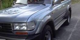 Bán Toyota land cruiser 4.5 xám 1997 hai cầu số sàn xe còn rất đẹp