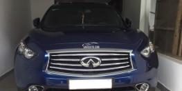 bán xe Infiniti QX70 2015 màu xanh nhập Mỹ nhà sử dụng odo đúng 45.000