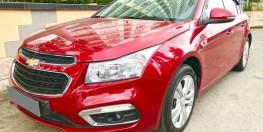 Bán gấp Chevrolet Cruze LTZ 2017 màu đỏ xe đẹp không thể tả