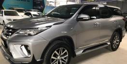 Bán xe Toyota Fortuner 2.7V 2017 , 2 cầu , có hỗ trợ trả góp , giá TL