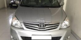 Bán Toyota Innova G đời 2011, màu bạc, 485tr