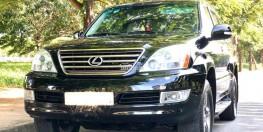 Bán Lexus Gx470 2009 hai cầu at nhập Mỹ màu đen cực mới.